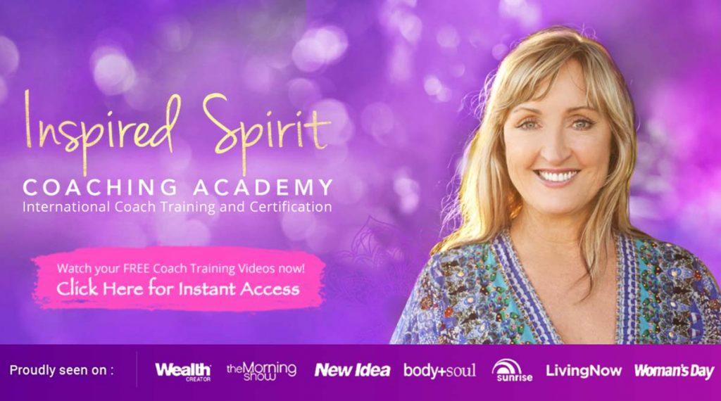Inspired Spirit Coach Academy - Website screenshot