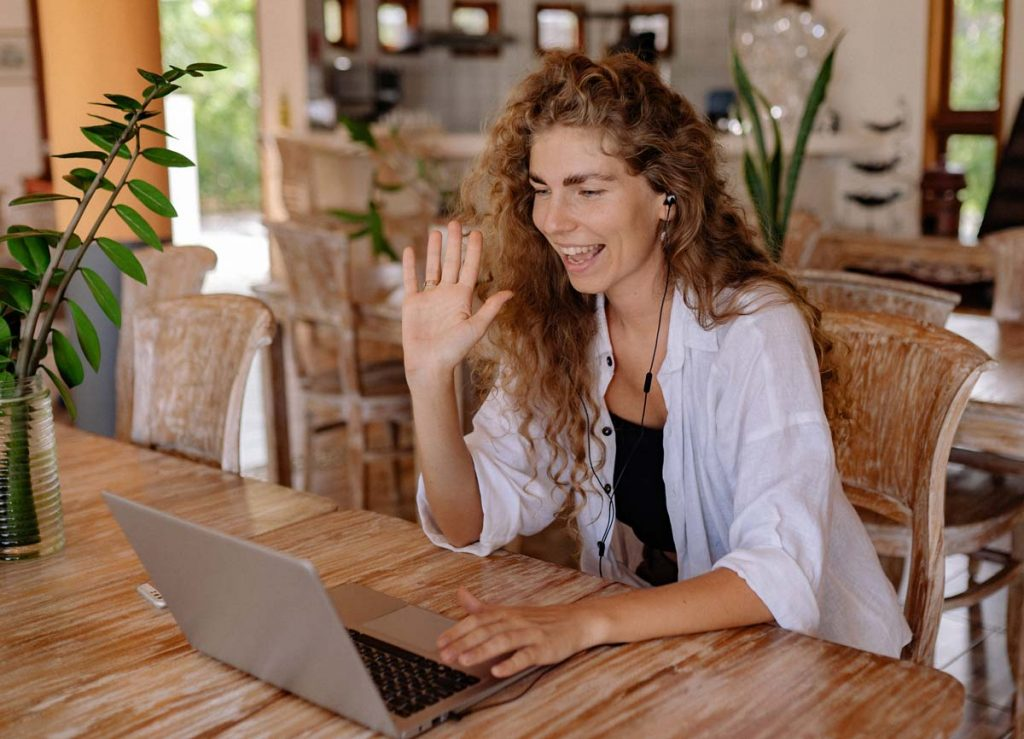 Life Coach - Woman on Video Chat